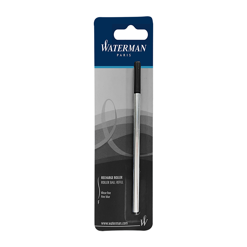 Waterman Roller Ball Pen Refill Schwarz Feine