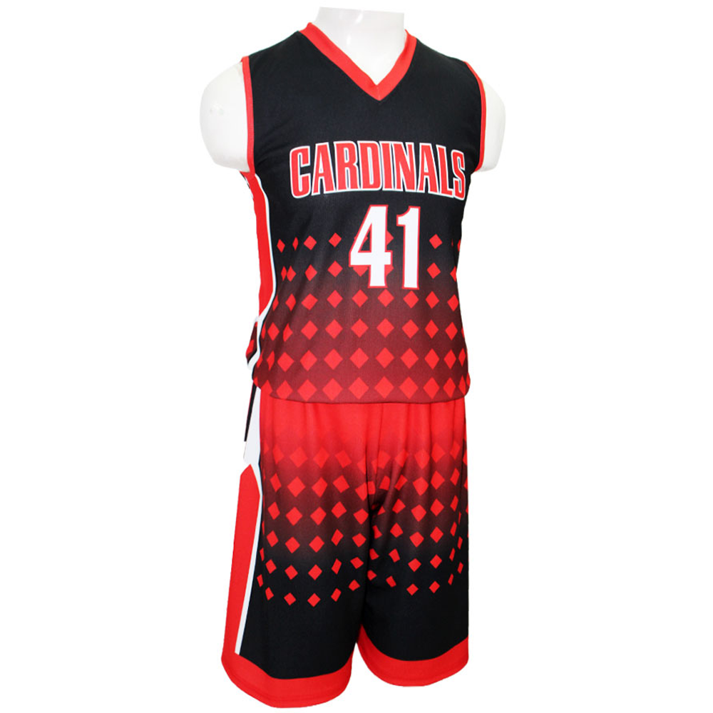 Top Quality Youth Sublimation Basketball Uniform / Sublimation Basketball Uniform In Wholesale Price