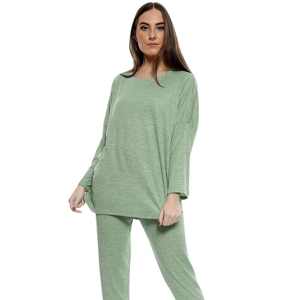 Wholesale Custom Women Fashion Ladies Velour Tracksuits for Winter