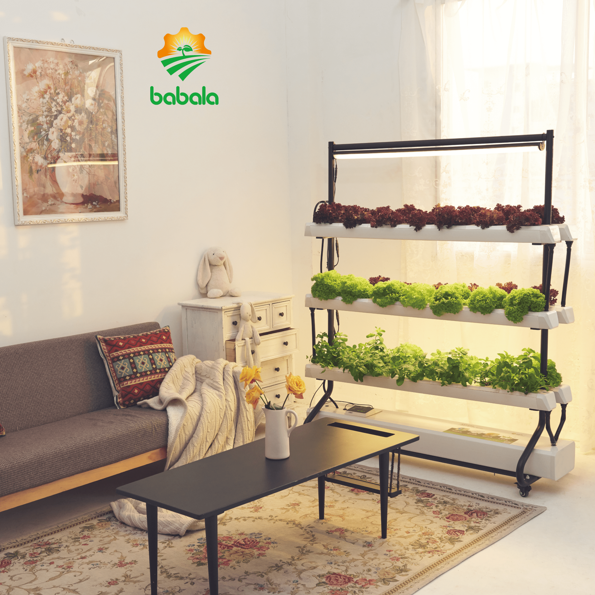 Smart Vertical Garden home hydroponic