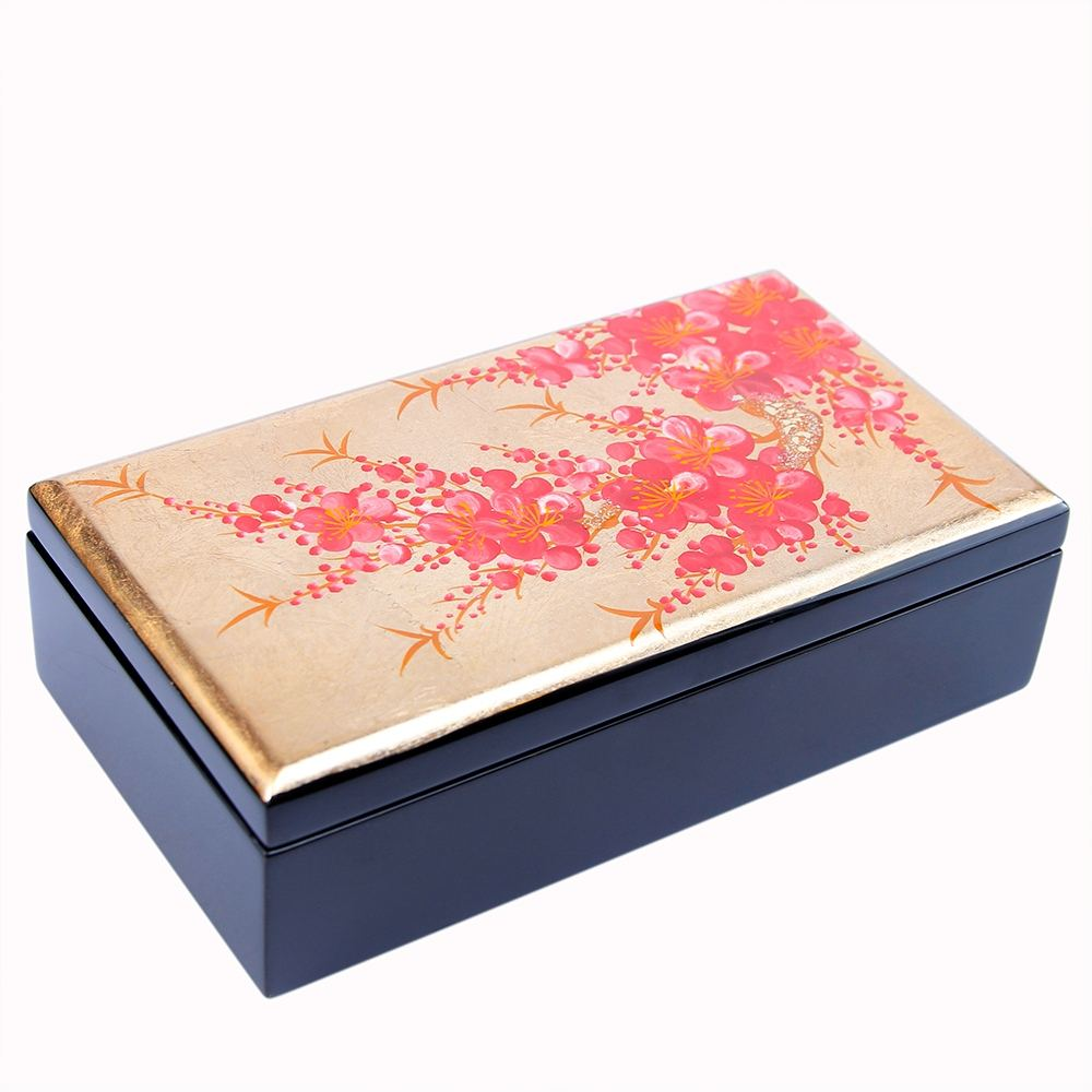 Wholesale High Quality Hot New Trending Product Best Price 8x16cm Colorful Customize Export Wooden Lacquer Storage Box