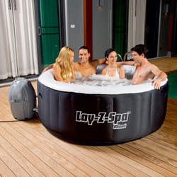 BUY 2 GET 1 FREE LAY Z SPA MIAMI AIRJET INFLATABLE HOT TUB MODEL 2-4 PERSON