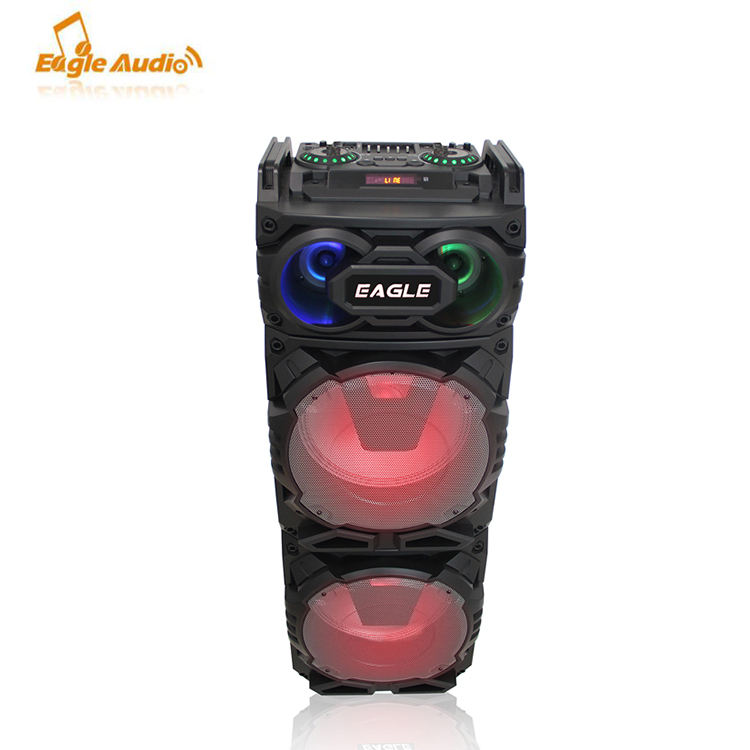 Powerful sound! Eagle Audio Wireless PA Active Karaoke Speaker box with rechargeable battery