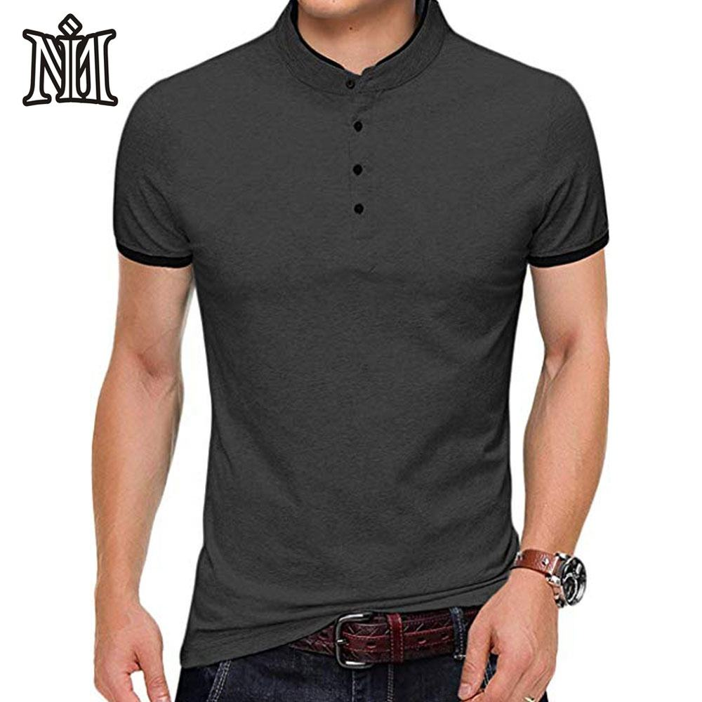 New Fashion design men's blank causal 95 cotton 5 spandex t shirts made in Pakistan