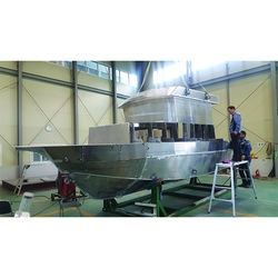 Best quality aluminum boat for lake and sea economy yacht made in Korea