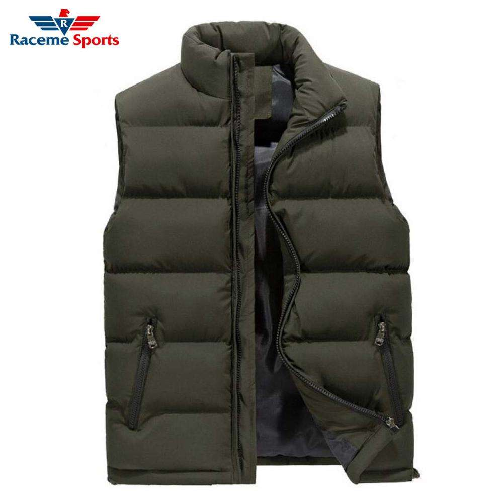 sleeveless Jacket Men's Winter Down Quilted Vest Jacket Body Warmer Sleeveless Padded Jacket Coat Warm Filling Puffer Light Weig