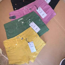 Shipment Cancels Apparels Branded Labels Women's Sexy Ladies Hot Short Outwear Casual Denim Cotton Fastening Button Girls Shorts