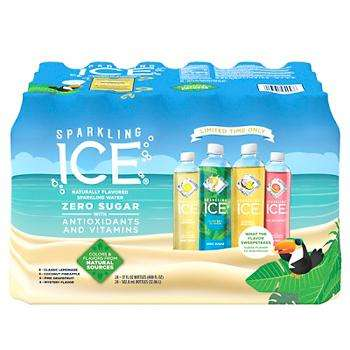Sparkling ICE Bottled Sparkling Water USA American Flavored Bottled Water Summer Variety Pack