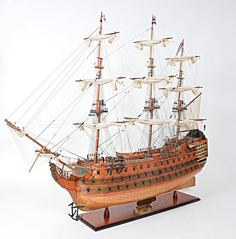 HMS Victory XL - Special Edition - Vietnam High Quality Wooden Model Tallship Made From Cedar Wood/ Nautical Home Decoration