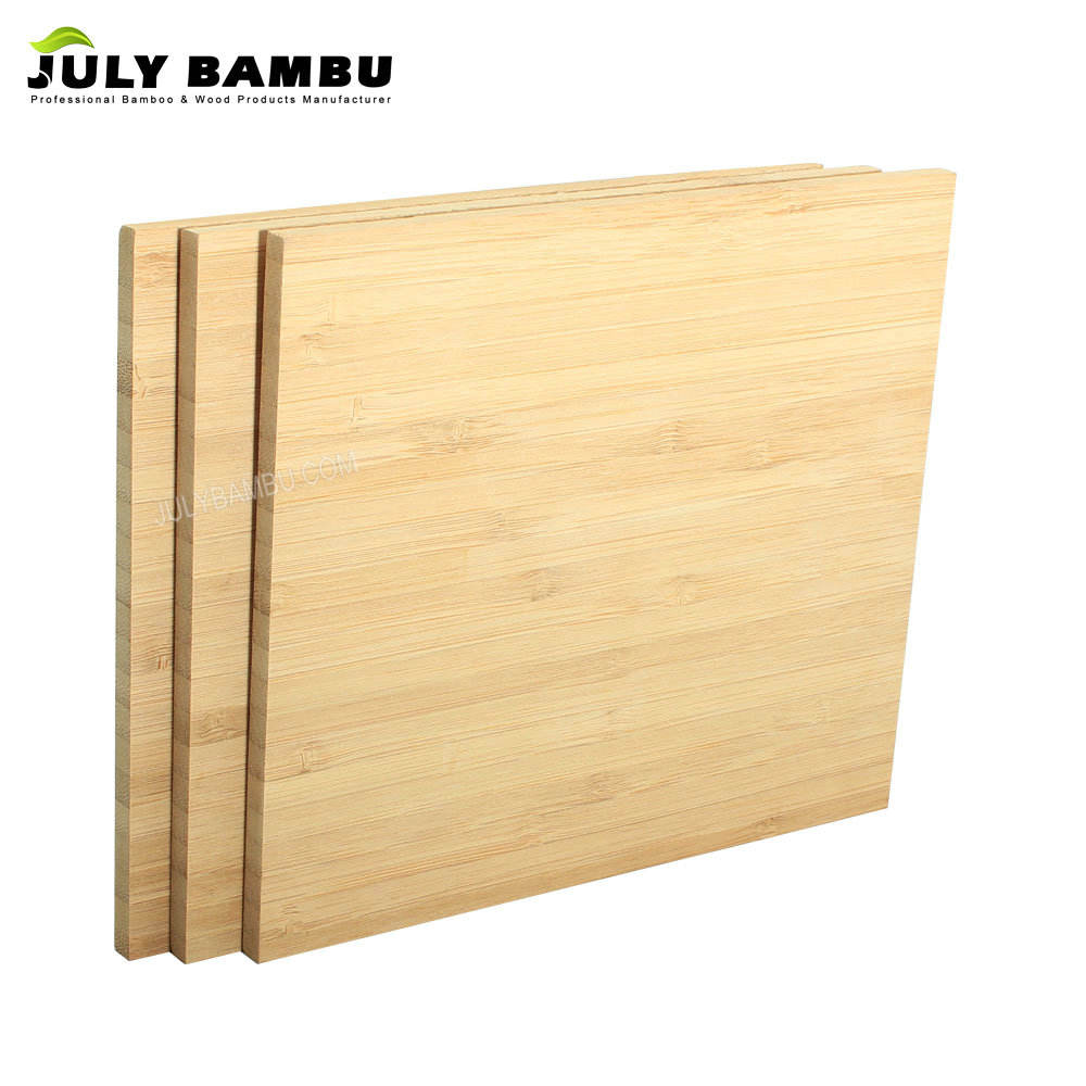 "Good Toughness 1/4"" Bamboo Plywood 4mm Bamboo Planks Vertical Laser Bamboo Ply Sheet"