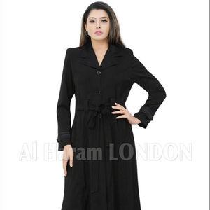 Mousseline de soie noire femmes Abaya turquie Style longue robe Abaya turc manteau au meilleur prix