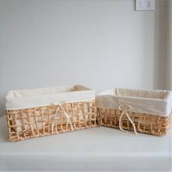 Impressive handmade bread storage baskets - food basket home