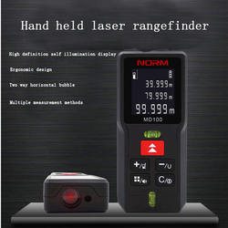 Norm Technology Hand held laser rangefinder Measuring ruler Small size, high precision and fast speed measurement