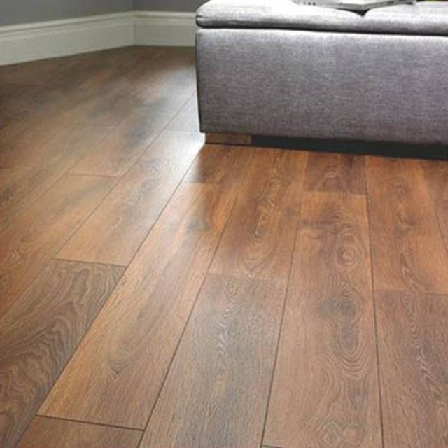 Brown Ipe color quickstep timber floor