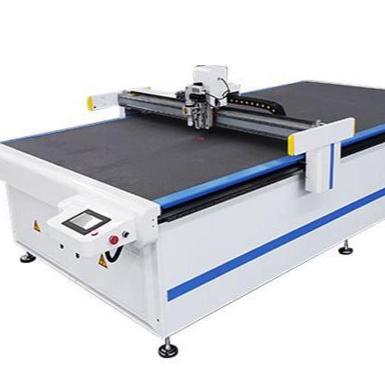 CNC Router Oscillating Vibrating Knife Cutting Machine for leather/footwear/bags/garment leather multi-layers with camera