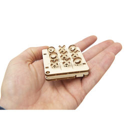 Tiny Board Game  - Tic Tac Toe - by Wooden.City WG201 Gift