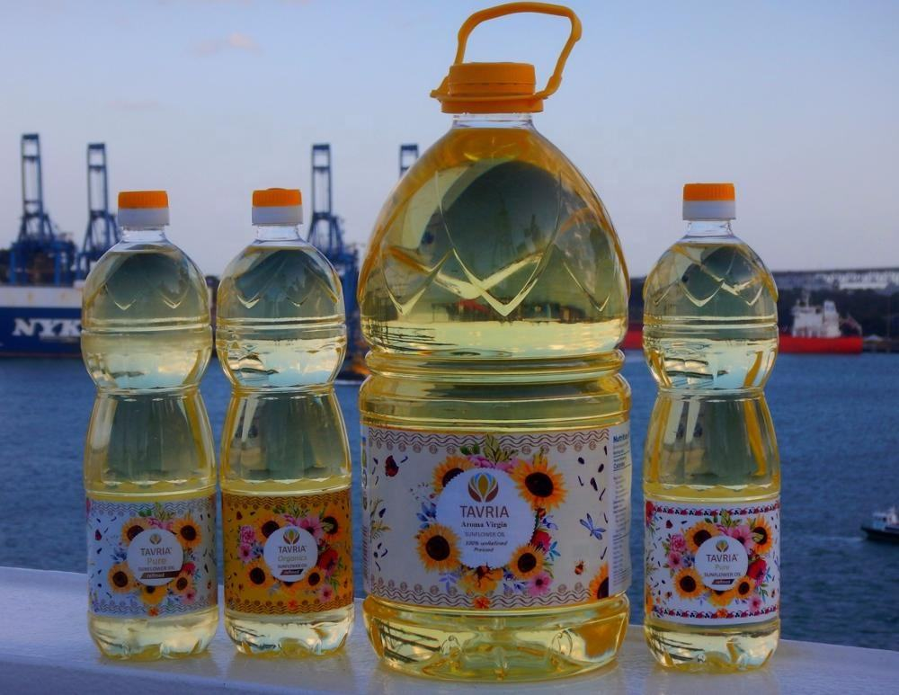 Ukranian refined sunflower oil