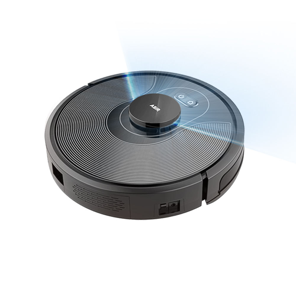 Cleaning vacuum robot with Laser Technology ABIR X8