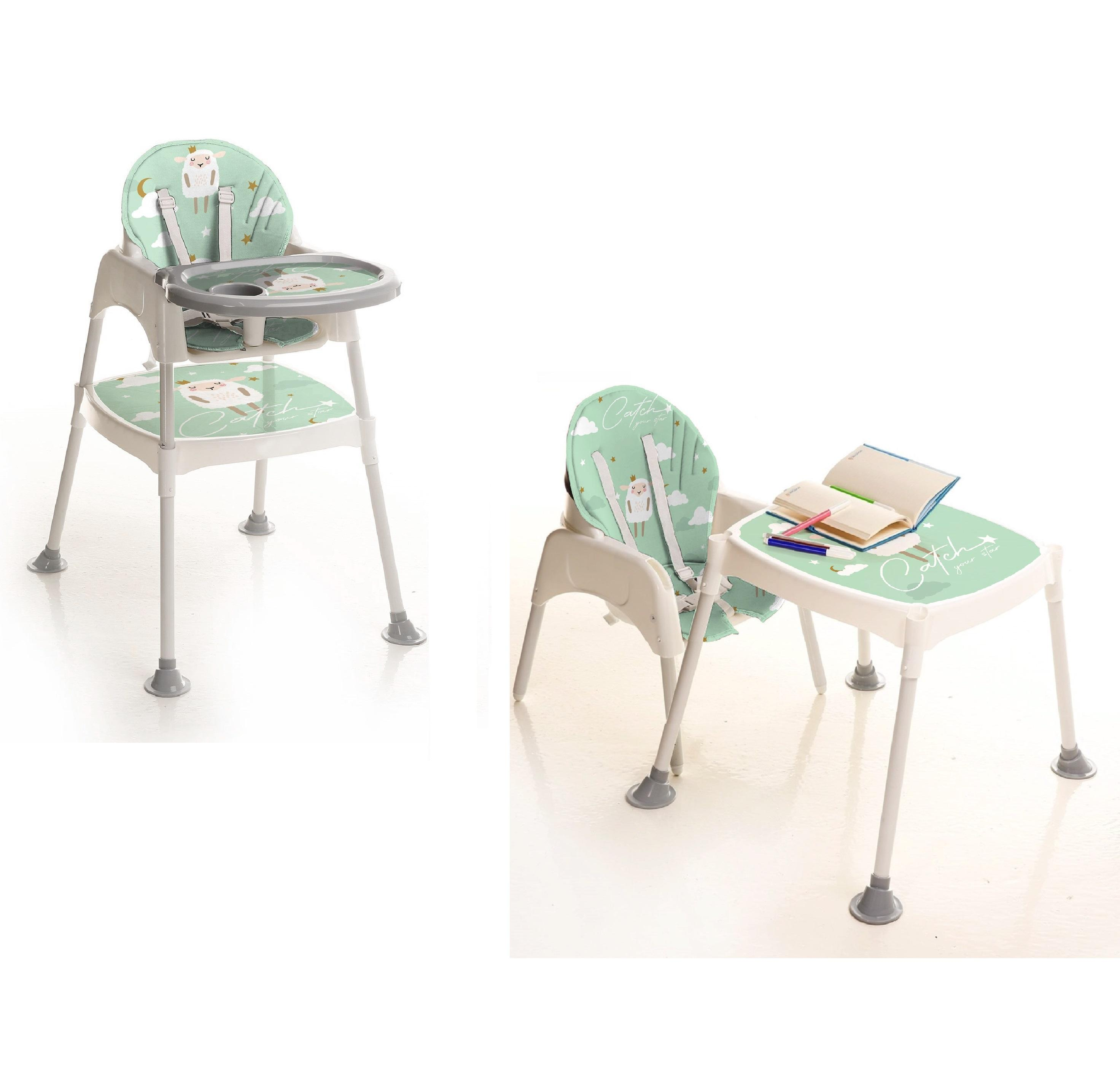 Best price hot sale baby high chair baby feeding high chair baby table and chair made in Turkey