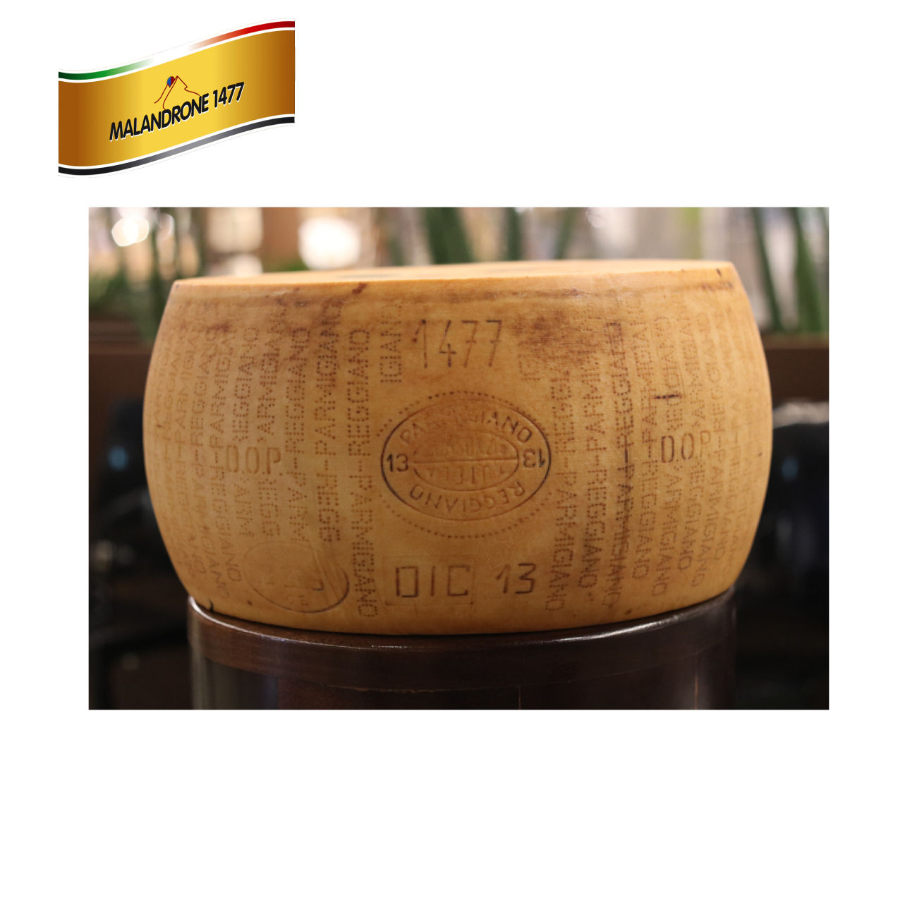 Prime quality Parmigiano Reggiano Hard Cheese 48 Months whole form