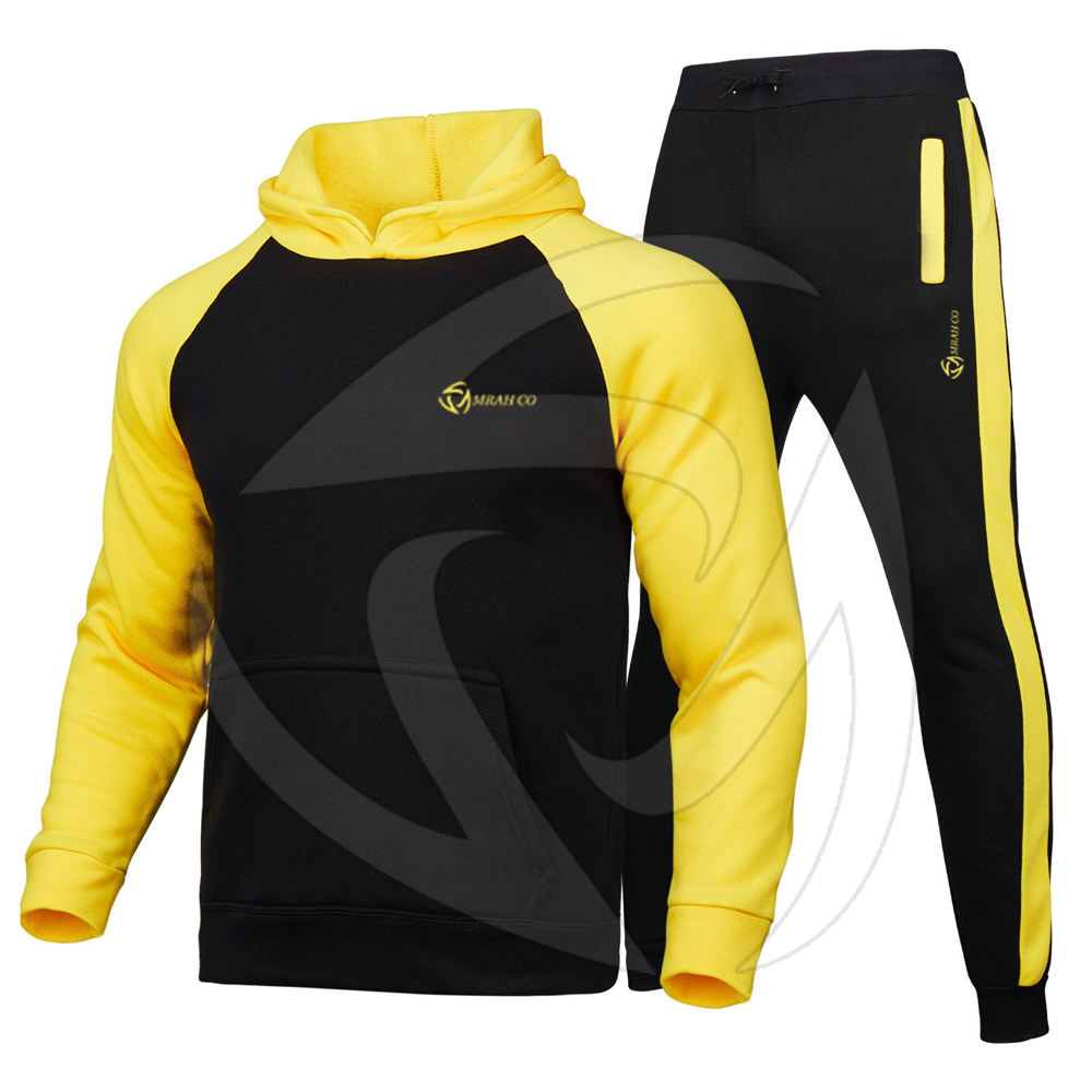 Blank Tracksuit Custom Sports Suit Set Mens Polyester Team Track Suit for men