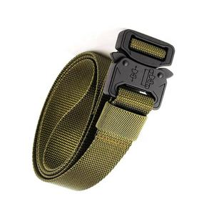 Multi Function Tactical Belt Quick Release Military Style Nylon Belt For Hunting Camping