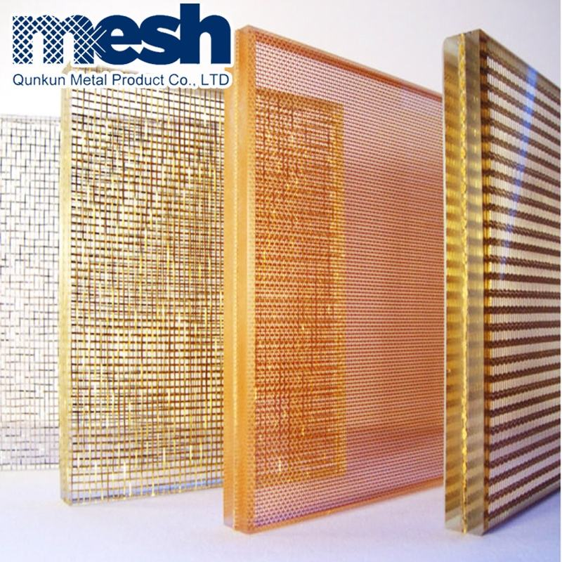 Bronze Mesh for Glass Laminated / Architectural Metal Mesh