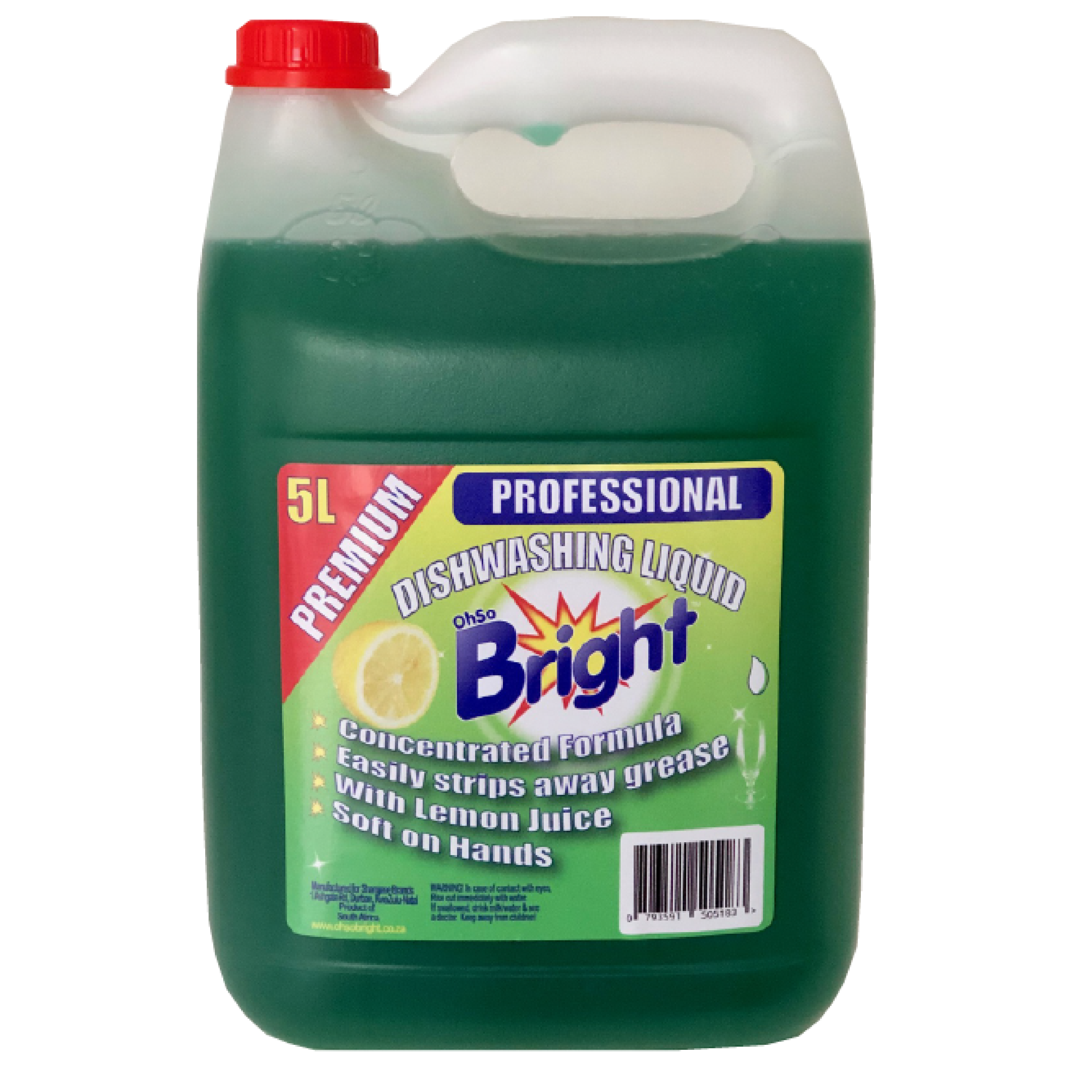 OhSoBright Dishwashing Liquid 5L