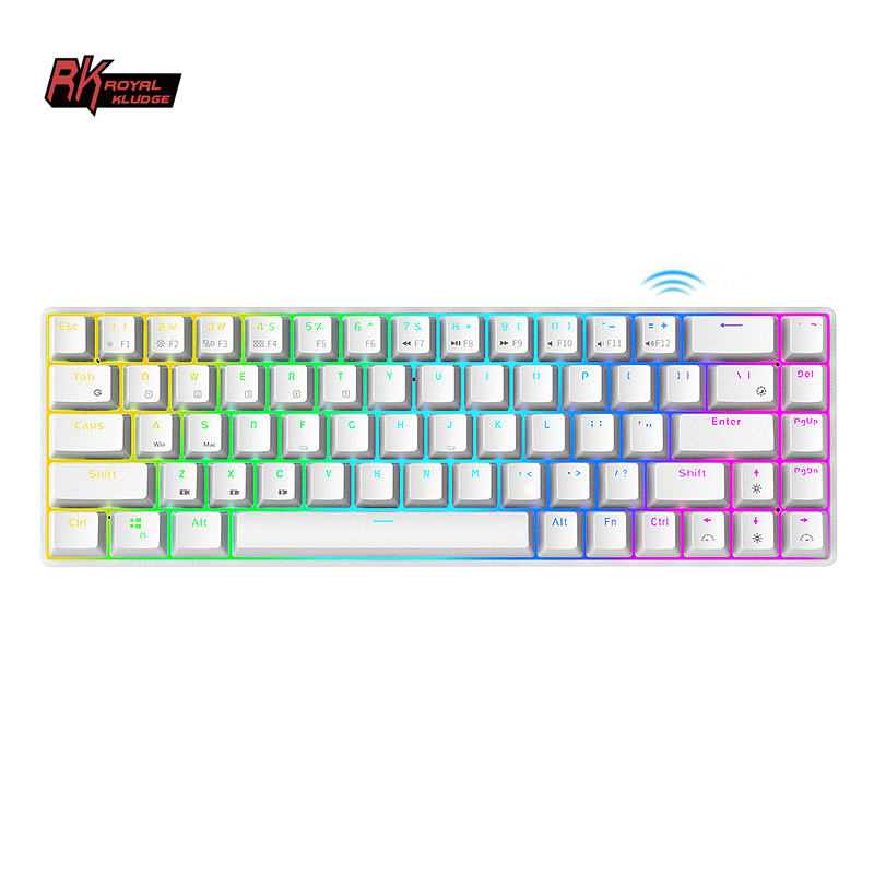 Royal Kludge RK68 mechanical rgb notebook smallest hot swap keyboard oem board lights quality gaming keyboard and mouse combo