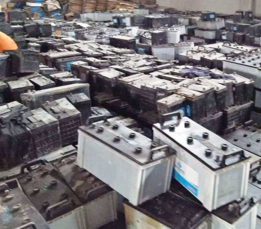 Drained Lead-Acid Battery scrap for sale