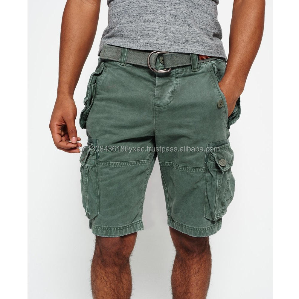 100% Export Quality Men's Cargo Shorts From Bangladesh