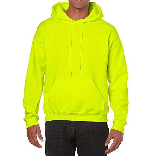 Neon Green Pullover Sports Hoodies Custom for men and women Sweatshirt manufacturer with printing or Embroidery hoody logo