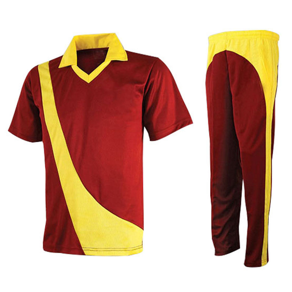 Top Quality Design Your Own Cricket Jersey Uniforms Sports Wear Men's Cricket jersey Set