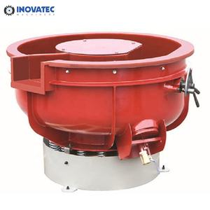 300 L 10 Cft Holland Roto finish Metal Parts Tumbler Vibratory Bowl Polisher Vibration tumbling machine