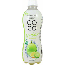 COCO VIO Variety Pack! Pure Sparkling Coconut, 16.9 OZ Cans - Vegan, Kosher, and Gluten Free