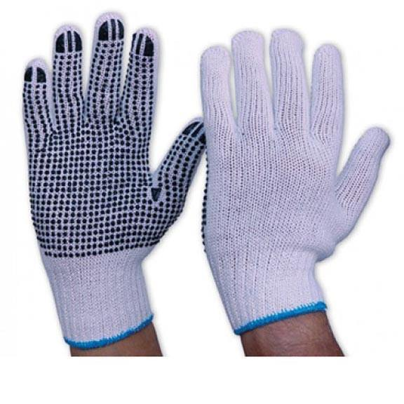 General Purpose Work Premium Quality Anti Impact Cotton Hosiery Gloves