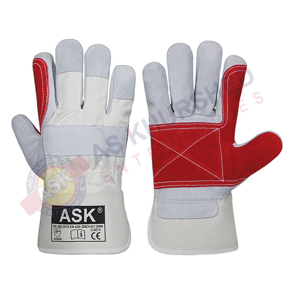 Industry Working Gloves / Canadian Rigger Double Palm Gloves
