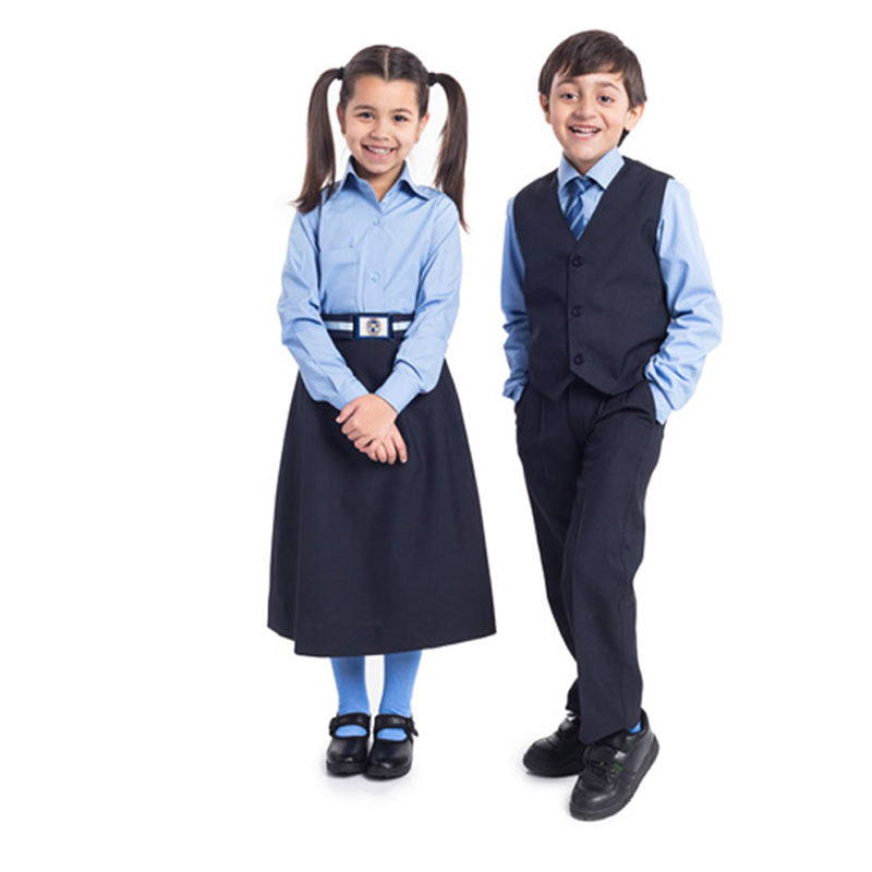 Best Quality school uniforms girls School Dress for Kindergarten Primary Kids Children