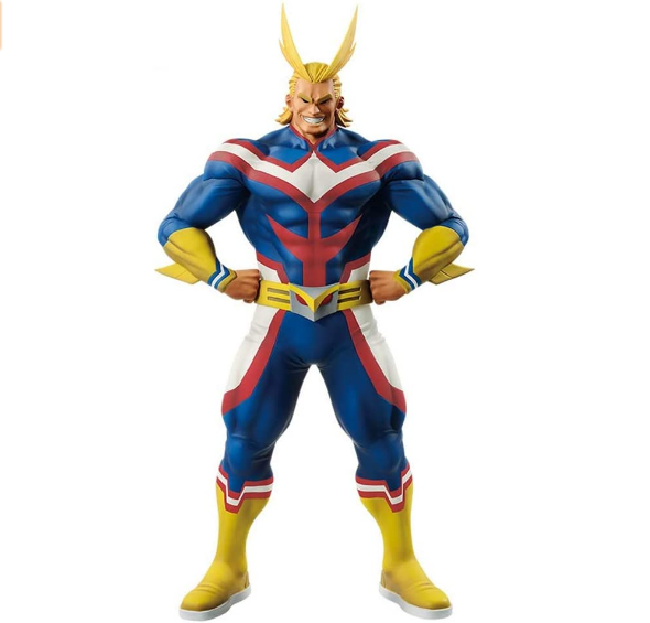 Custom plastic people Banpresto 39191 My Hero Academia Age of Heroes All Might Figure Multicolor action figure
