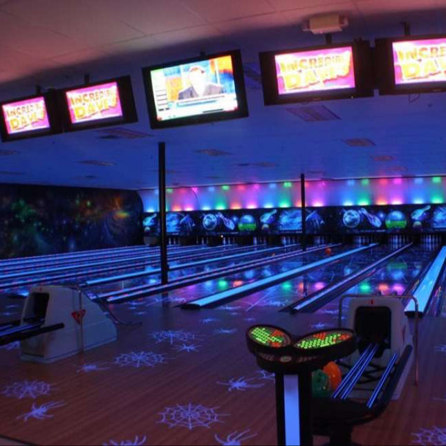 QubicaAMF bowling with MAD Lanes Spider Design Used