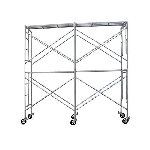 TSX-K876 Type Of Scaffolding Q235 Painted Frame Steel Galvanized Quick Stage Door Frame Scaffold