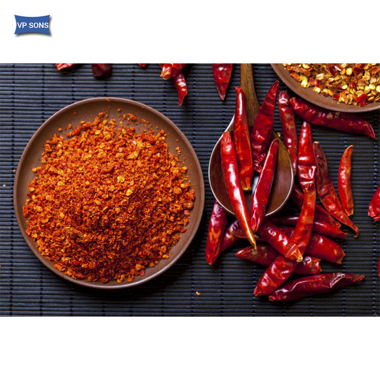 Top Food Grade Supply Dried Red Chilli Powder from Indian Supplier