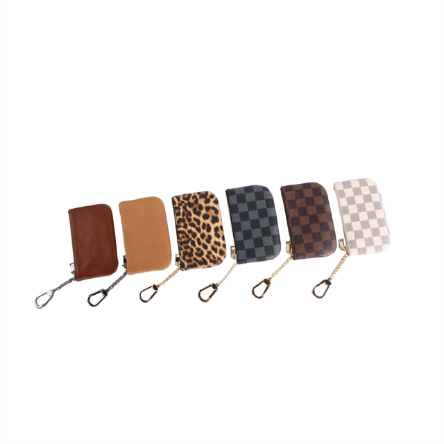 MINI COIN PURSE WITH CLASP PU COIN POUCH CUTE
