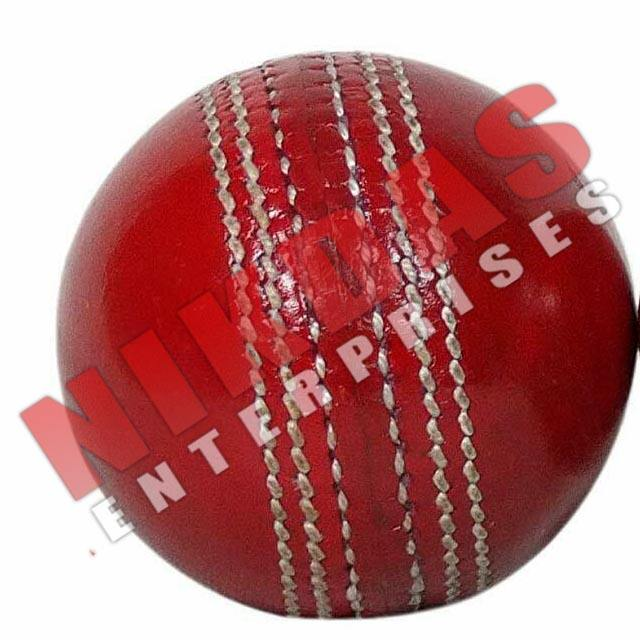 Free shipping Red leather test match cricket balls