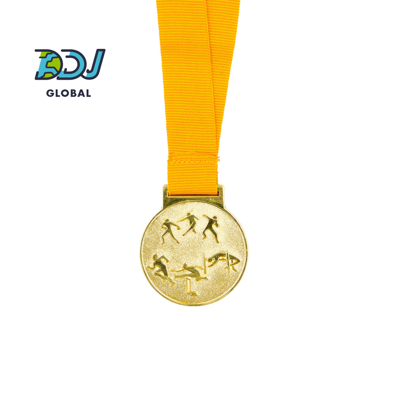 Custom Wrestling Medals Gold Silver Bronze Award Medals with Ribbon