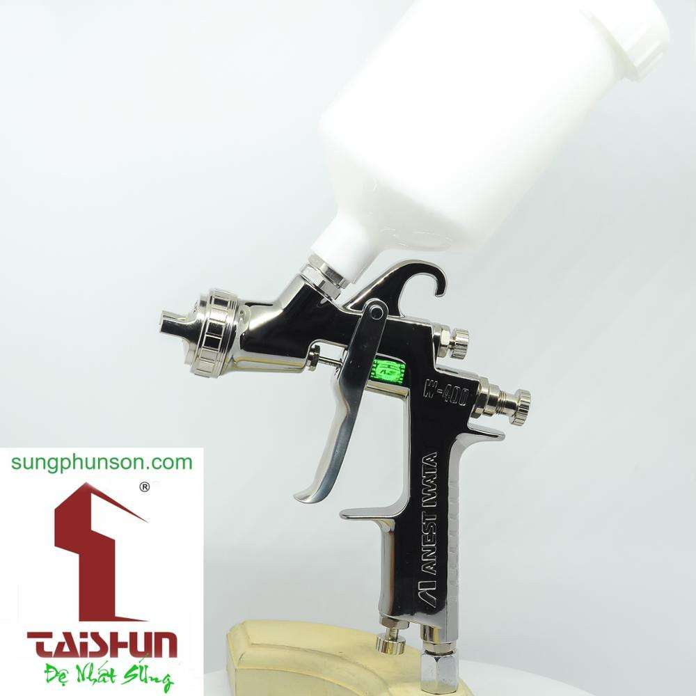 W400 best selling Anest Iwata Made in Japan for automotive refinishing authorized distributor Best spray gun