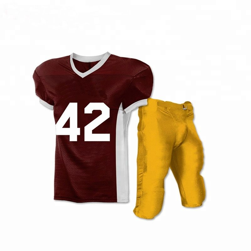 Breathable wholesale bestselling American football uniform