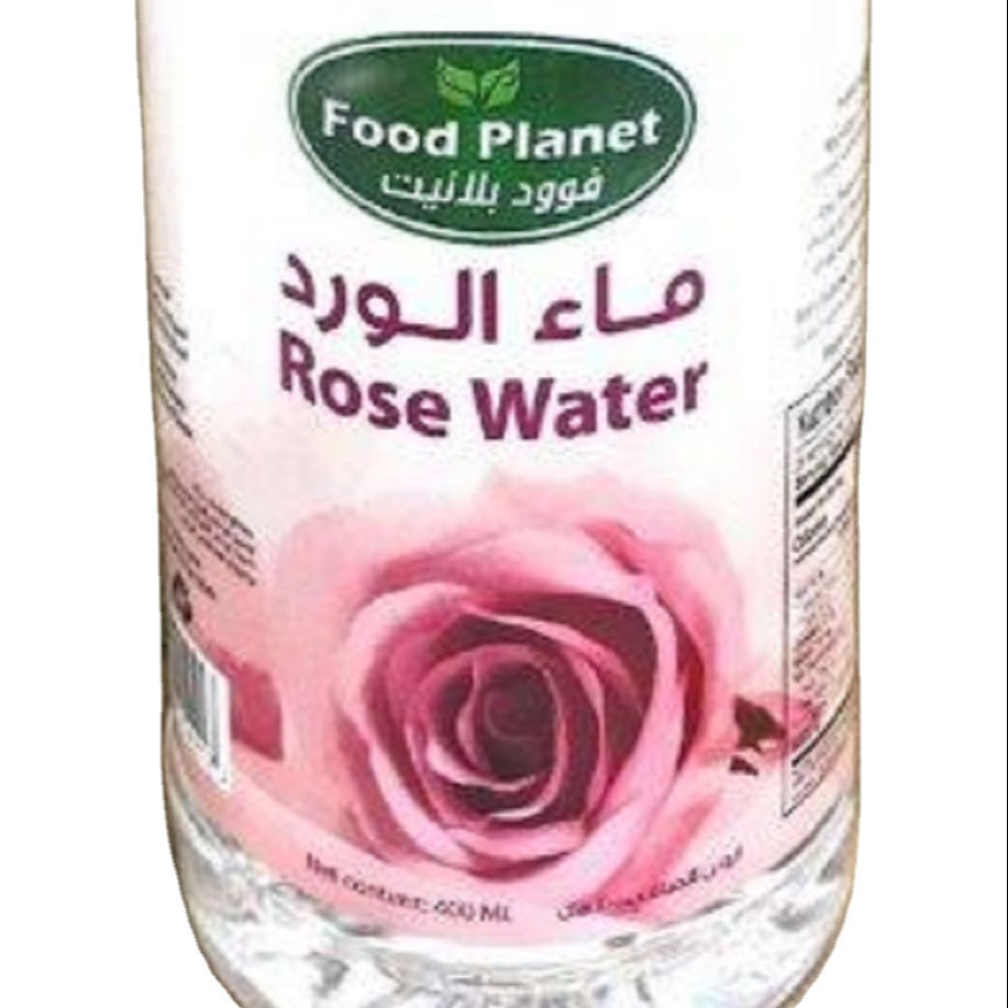 Food Planet Rose Water 12 x 400ml