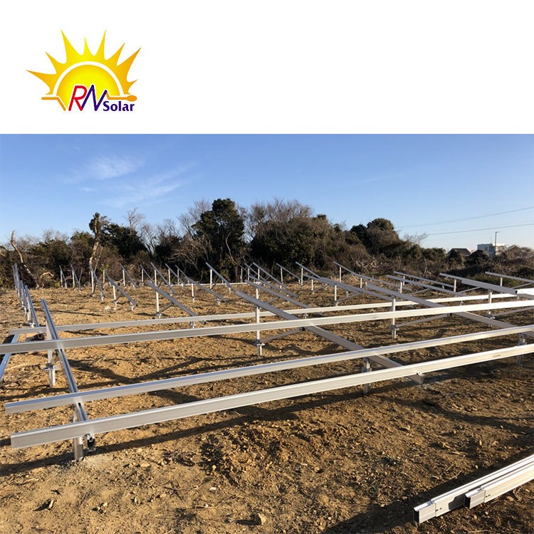 V type solar panel ground mount Ground Mount Solar Racking Systems