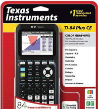 Bulk Sales For New Texas Instruments Graphing Calculator TI-84 Plus CE with free shipping